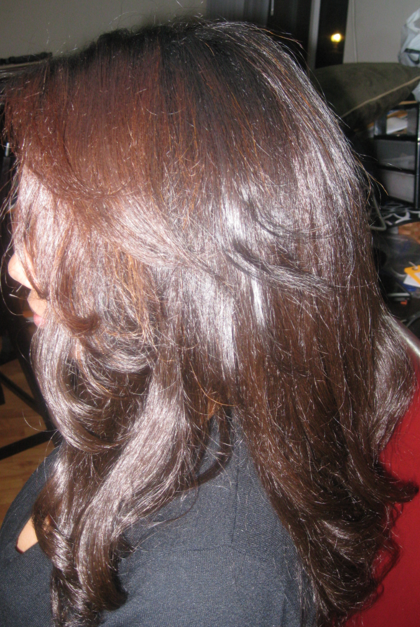 Extensions Plus Relaxed Texture Hair Install Weavemaster Tam