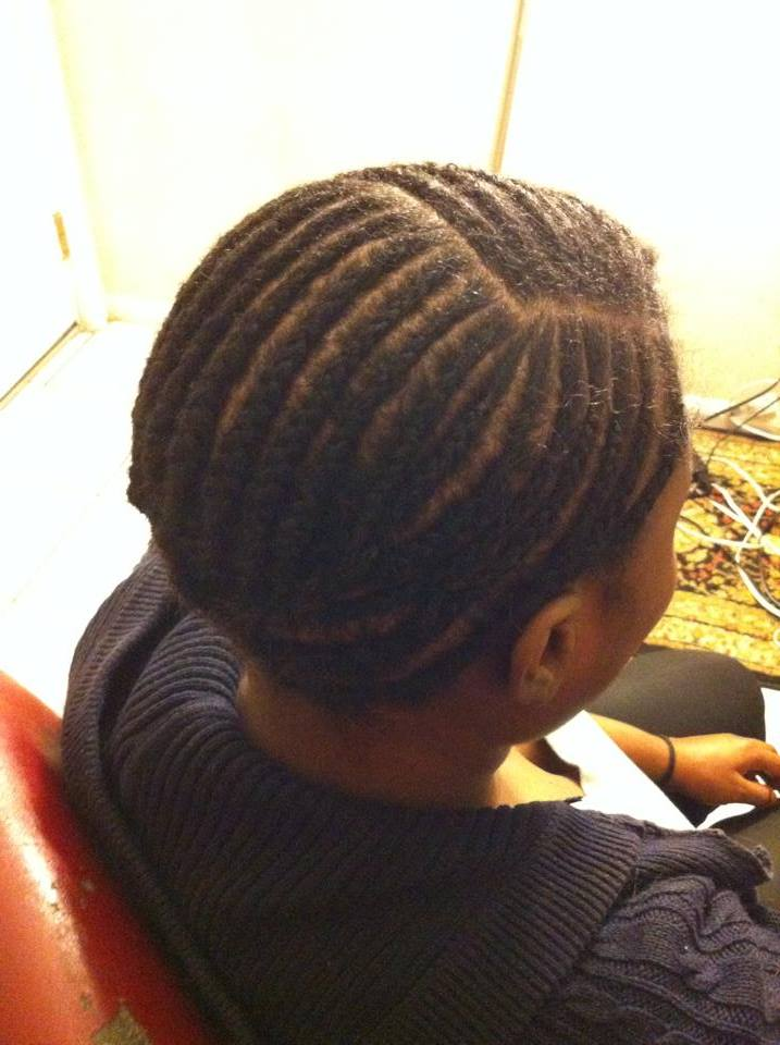 The Proper Braid Pattern For A Side Part Closure Install New Side Part Sew In Braid Pattern